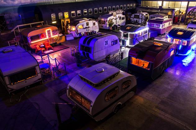 Vive le caravaning indoor à Bonn