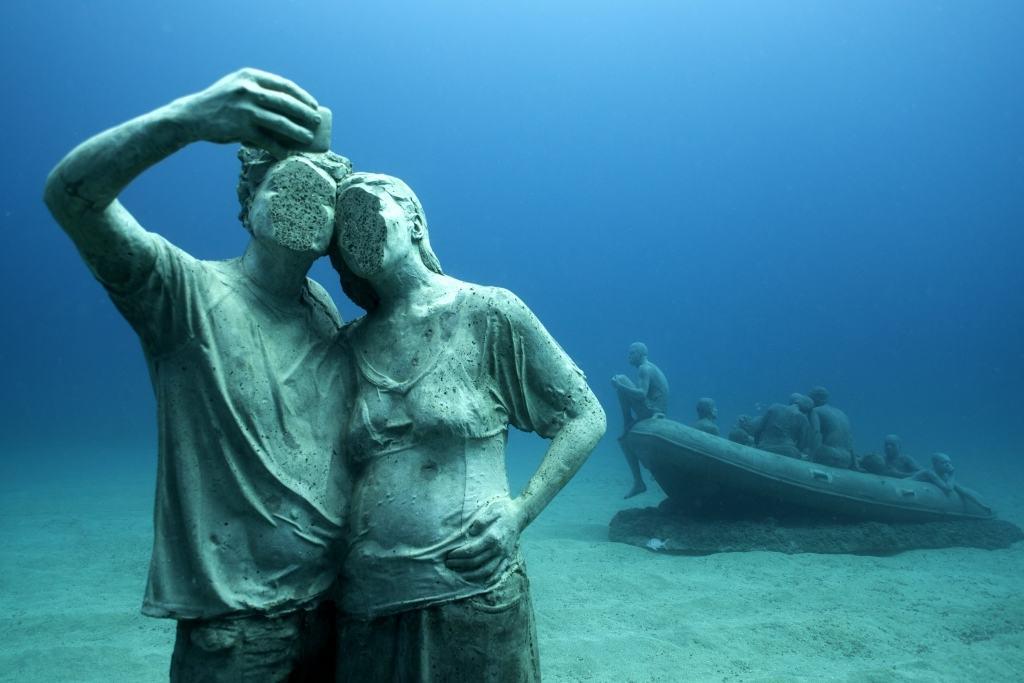 musée sous-marin de Lanzarote