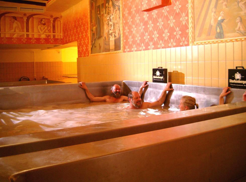 piscine de bière en Autriche
