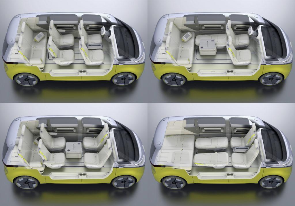le mythique combi volkswagen de retour en version lectrique voyage insolite. Black Bedroom Furniture Sets. Home Design Ideas