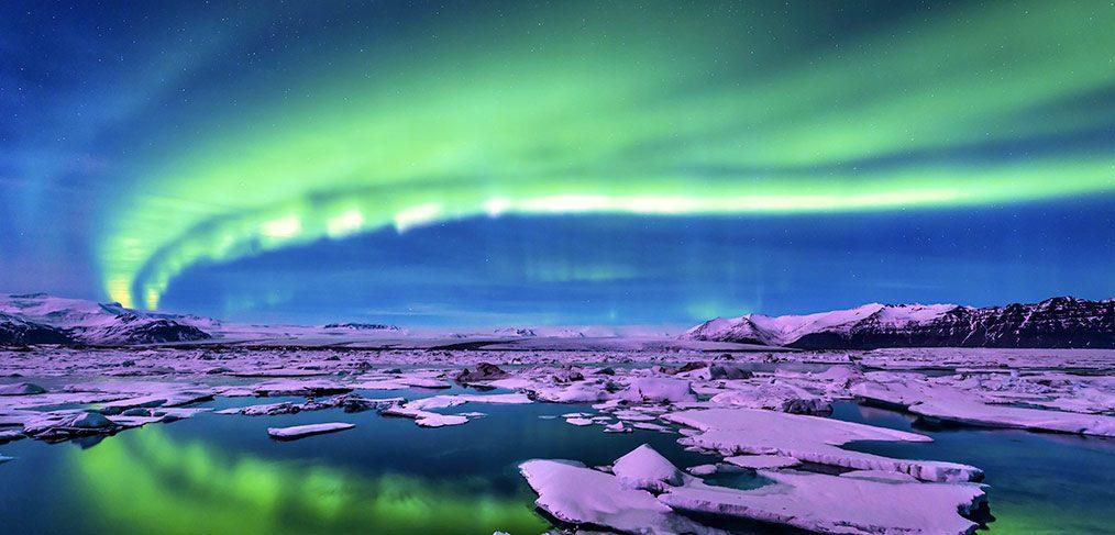 aurore boréale islande