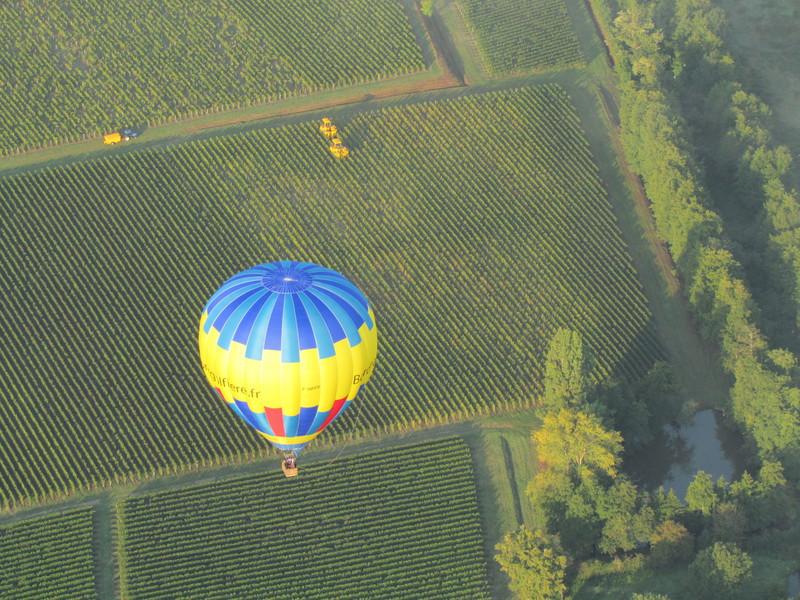 Bordeaux en montgolfière