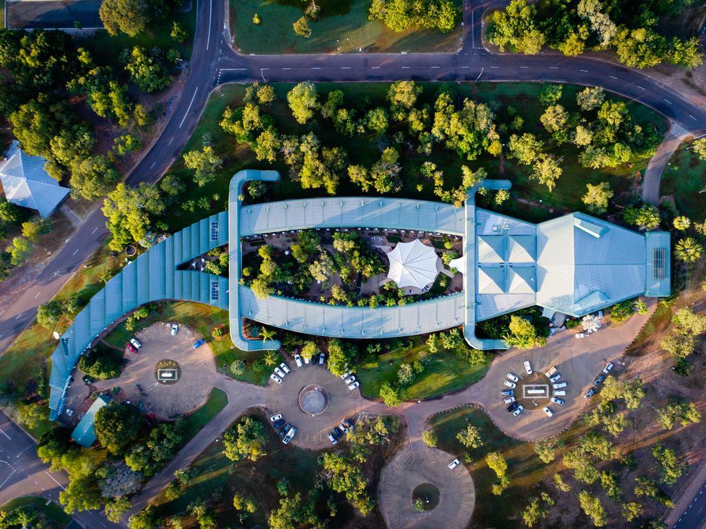 Le Gagudju Crocodile Hotel dans le Parc du Kakadu en Australie