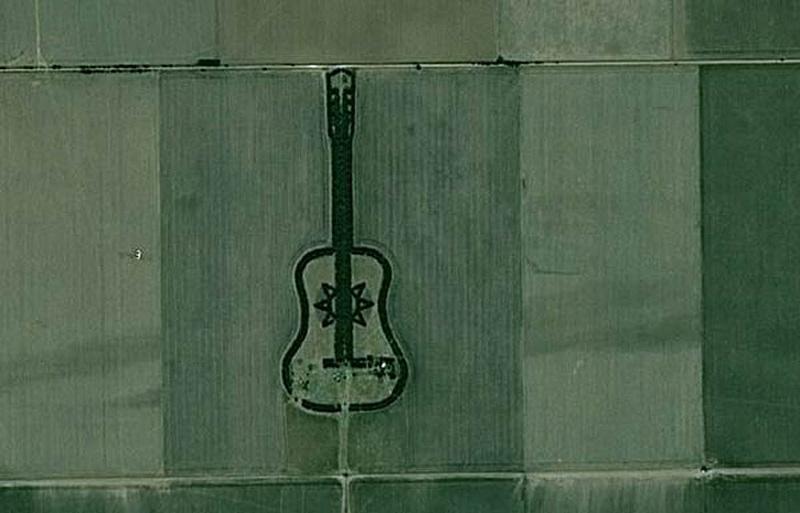 """Le """"Guitar ranch"""" à General Levalle dans la province de Cordoba en Argentine"""