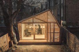 cabane finlandaise à Paris