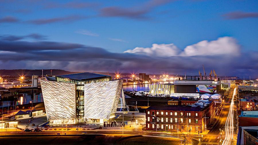 Belfast et The Titanic Experienc