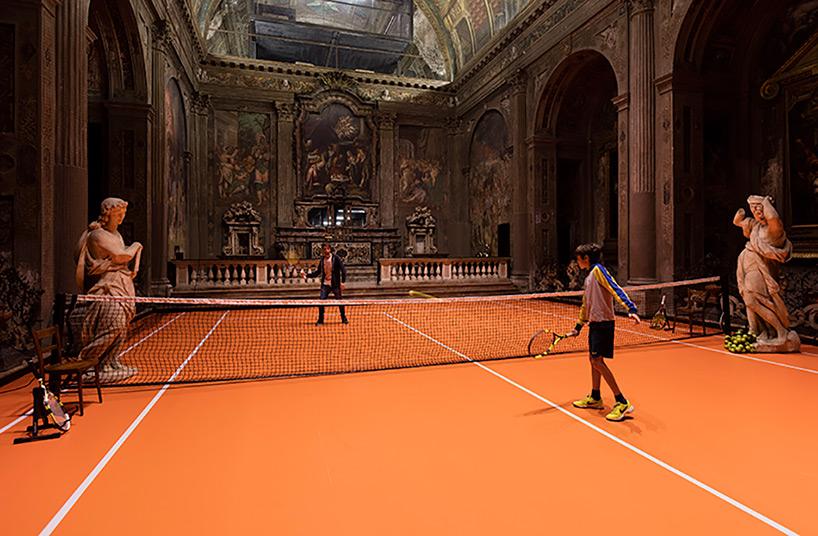 Top 10 des terrains de tennis insolites dans le monde