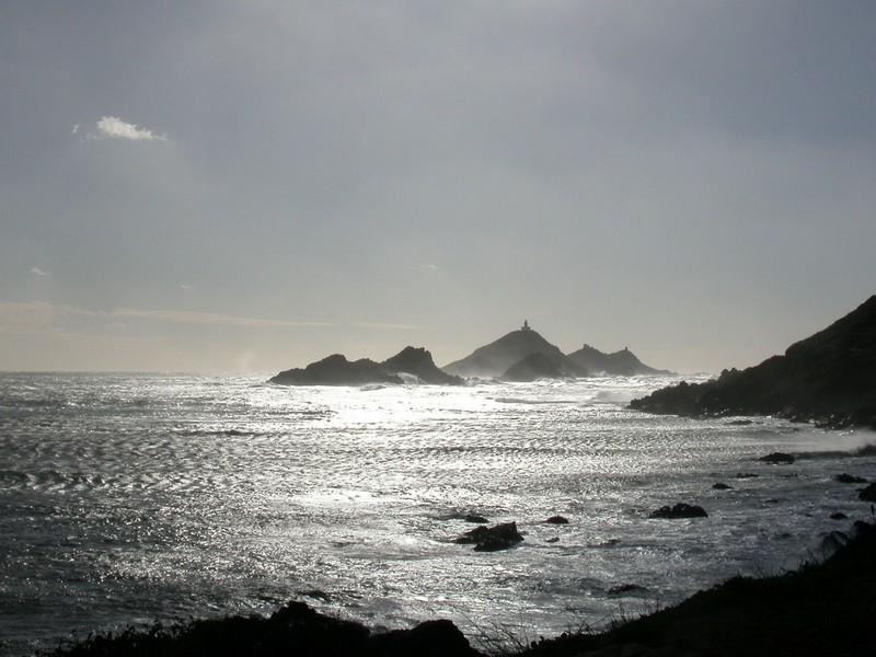 L'archipel des îles Sanguinaires en Corse