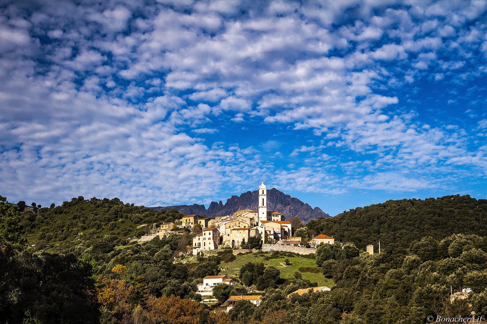 le village du nougat en Corse