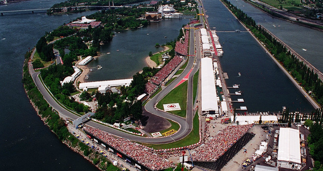 Circuit Gilles-Villeneuve Montreal, Canada