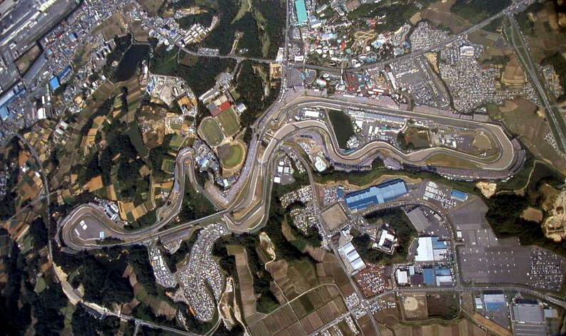Le circuit de Suzuka, Japon