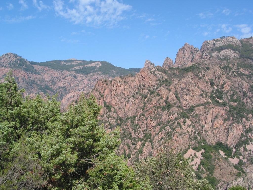 randonnée vertigineuse en Corse
