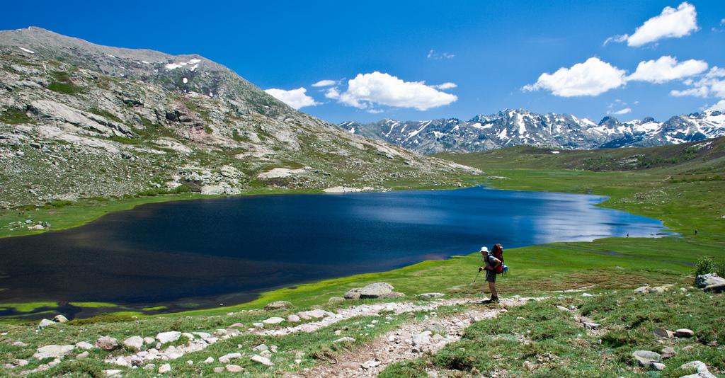 Les pozzines du lac de Nino en Corse