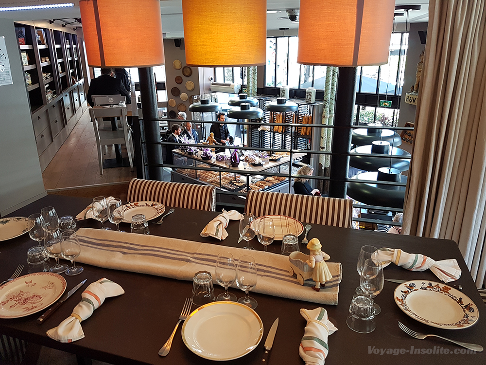 Une table d 39 h te paris d di e au boeuf wagyu cach e dans une boulangeri - Monter une table d hote ...