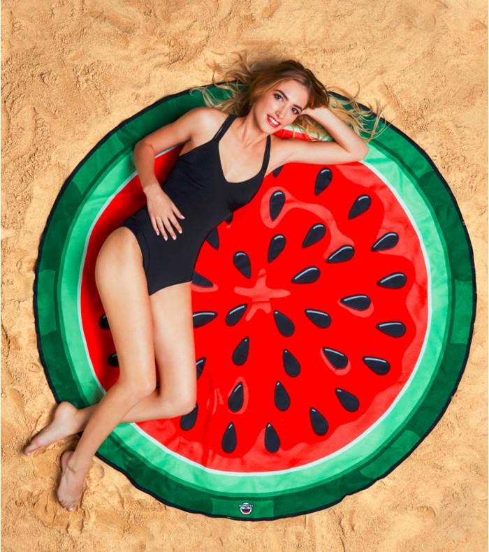 serviette plage pastèque