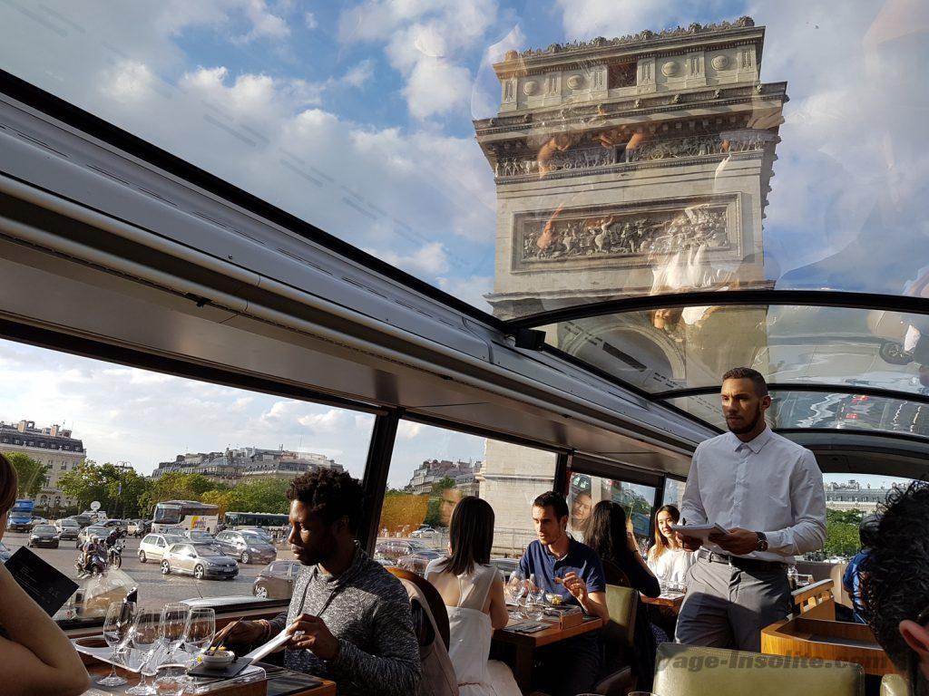 le Bustronome, restaurant gastro bus
