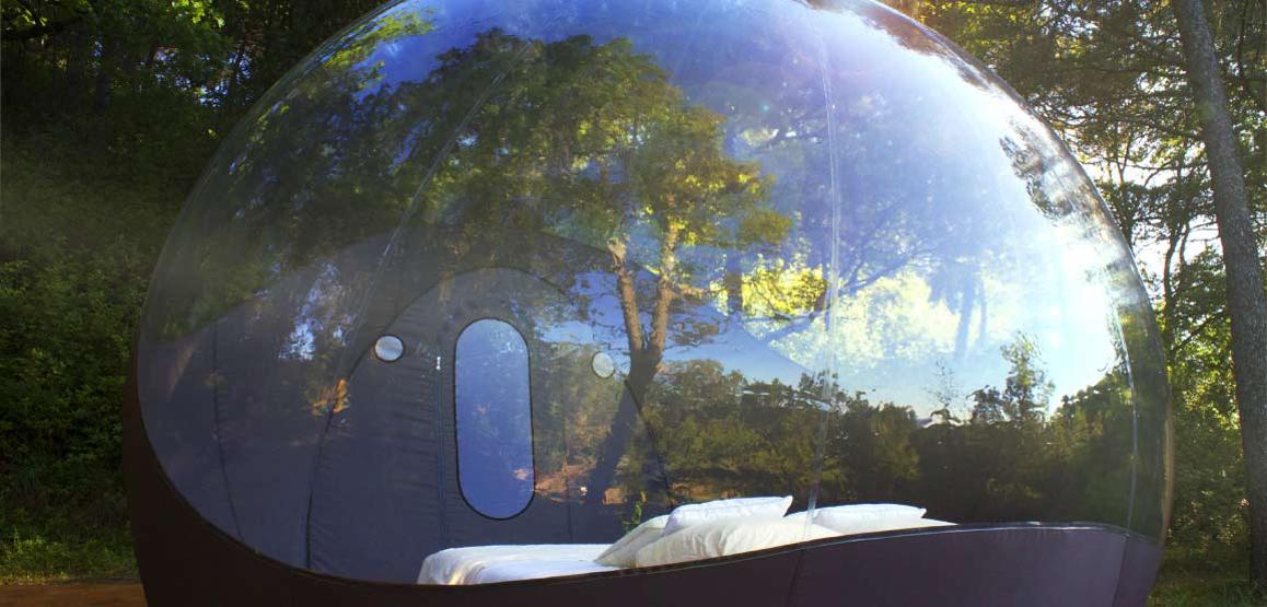Maisons bulles pont saint esprit voyage insolite for Maison en bulle
