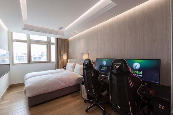 Un Hôtel pour les Gamers à Taiwan