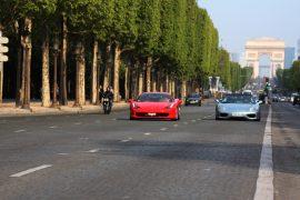 conduire une voiture de sport à Paris