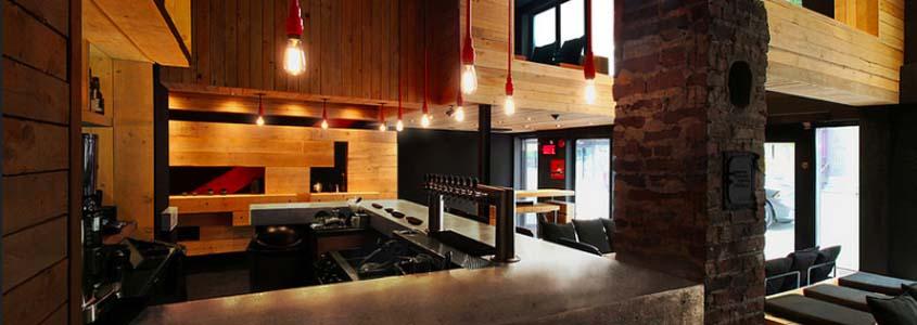 restaurant dans le noir à Montréal