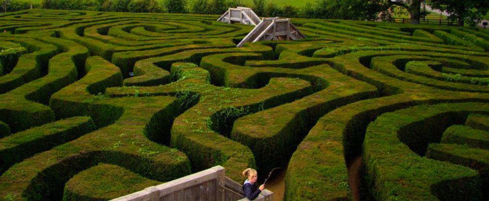 labyrinthe au Québec