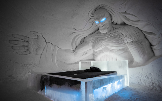 hotel insolite game of thrones