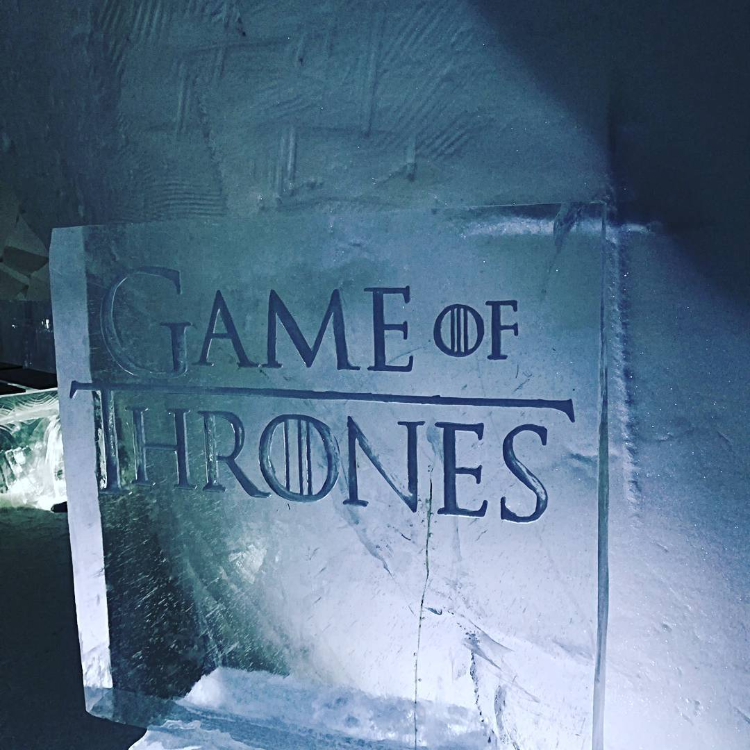 Bienvenue à l'hôtel de glace Game of Thrones en Finlande