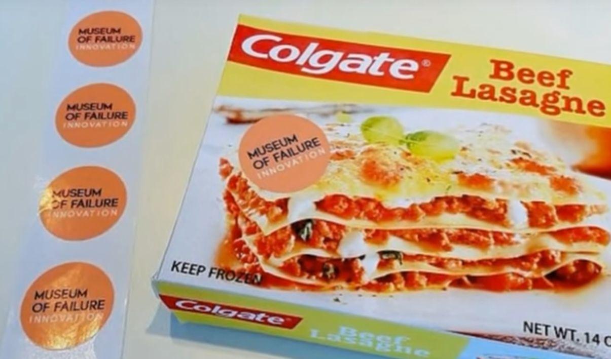 lasagne colgate