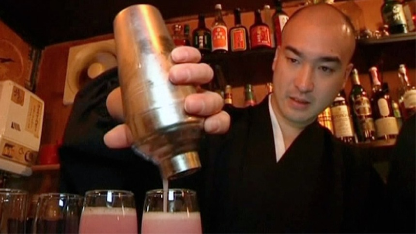 Bar bouddhiste Tokyo