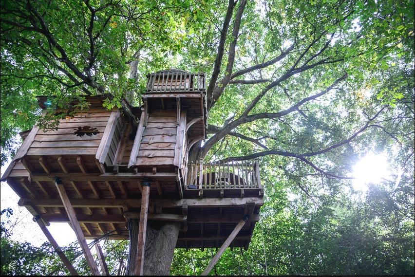 Les Cabanes du Moulin – Cabanes Spa (Ile de France) (290€)