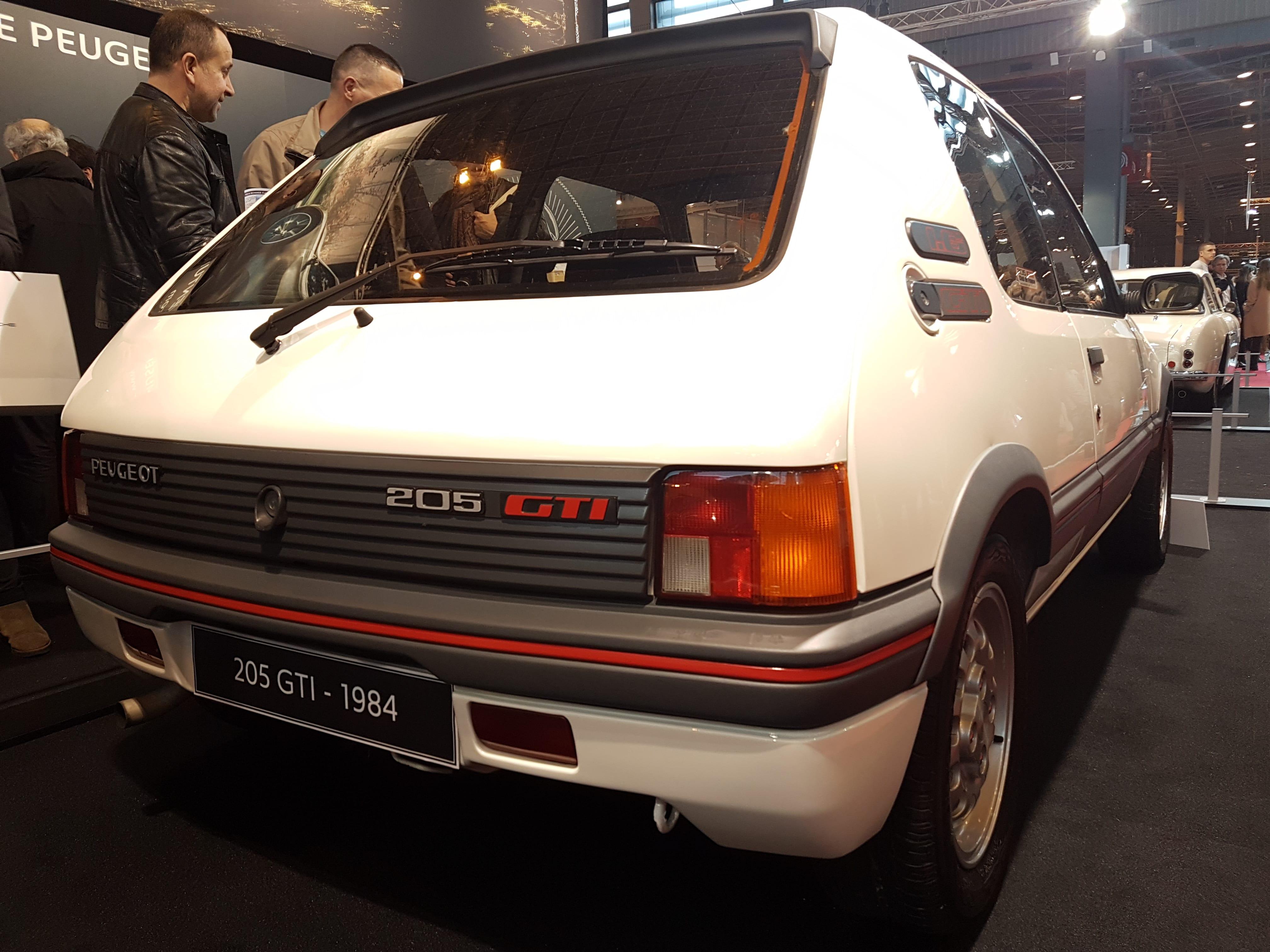 205 GTI Retromobile