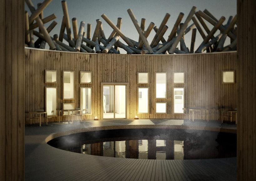 Hotel insolite aurore boréale Suède