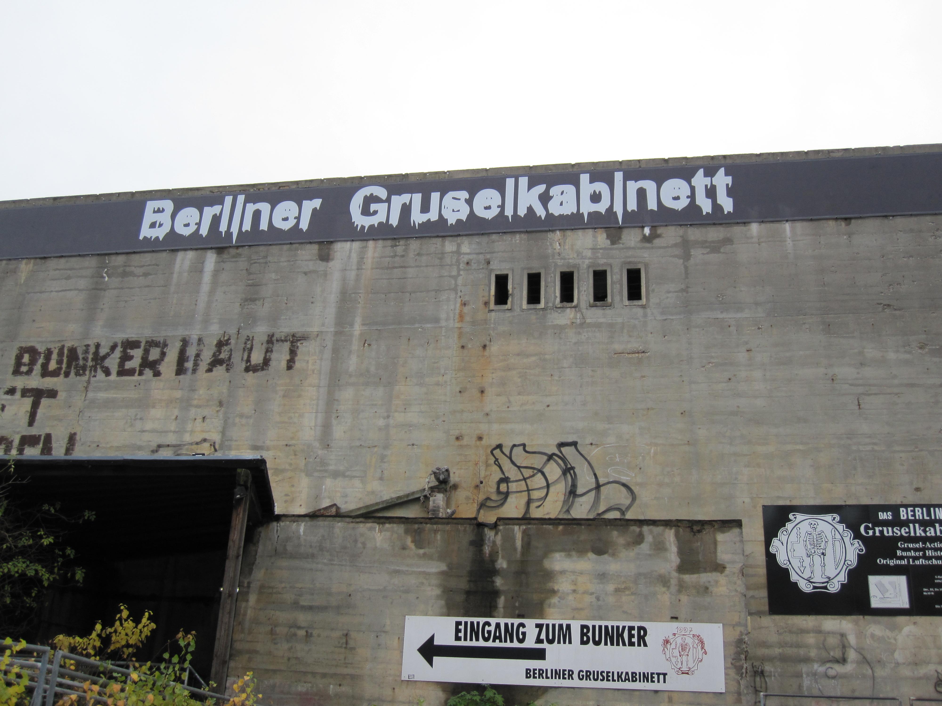 Berlin insolite bunker hanté
