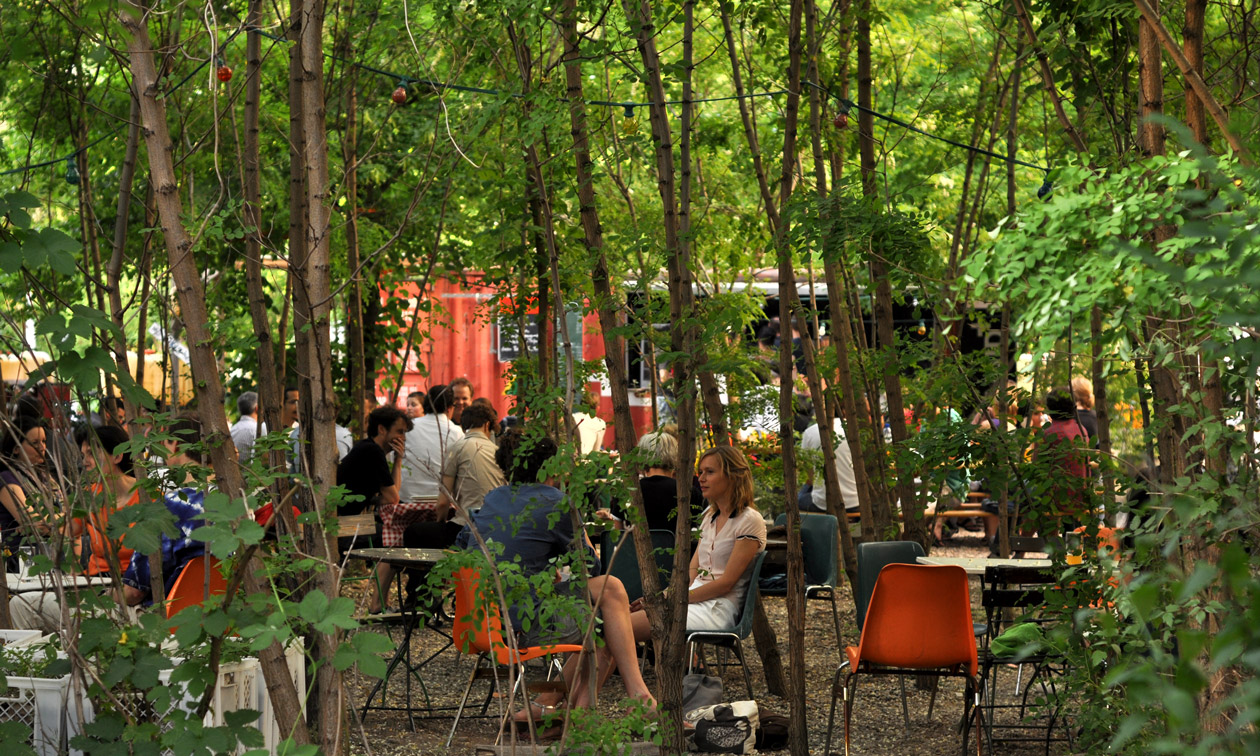 Berlin insolite restaurant nature foret