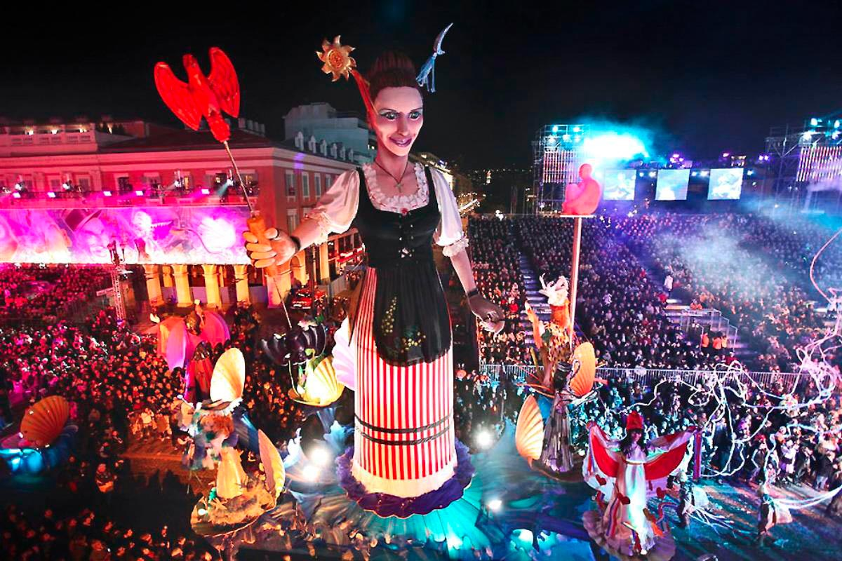 Nice carnaval insolite