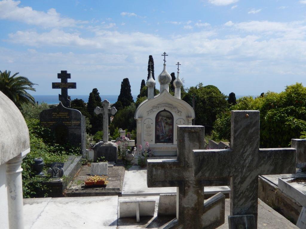 Nice cimetière russe insolite