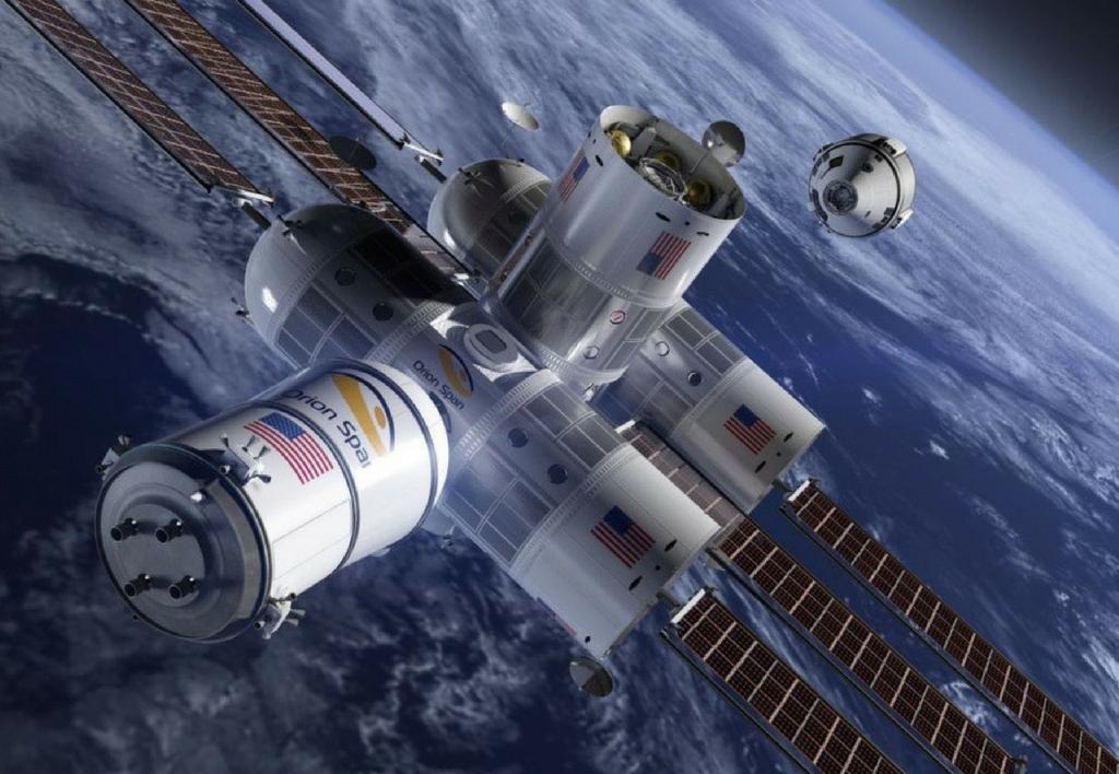 Le premier hôtel dans l'espace ouvrira ses portes en 2022