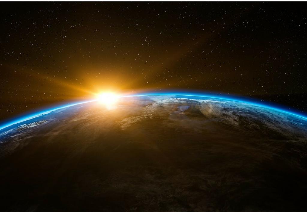 Vue spatiale de la Terre