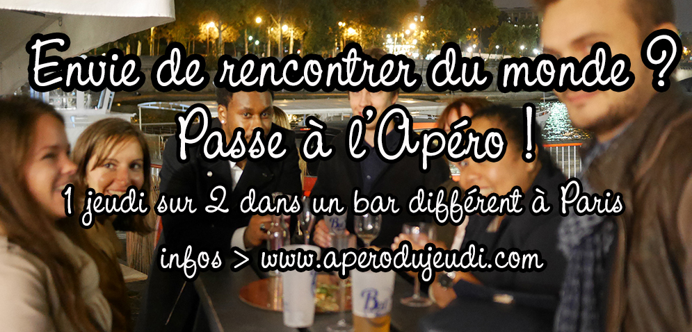 Apéro à Paris