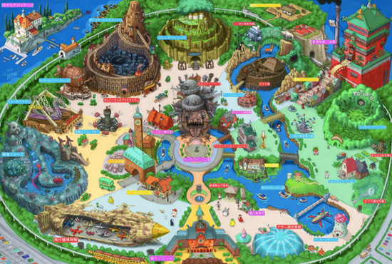 Plan Ghbli Park