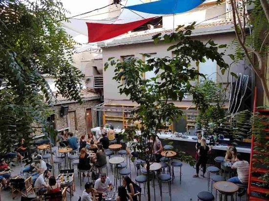 Gallery café the TAF à Athènes