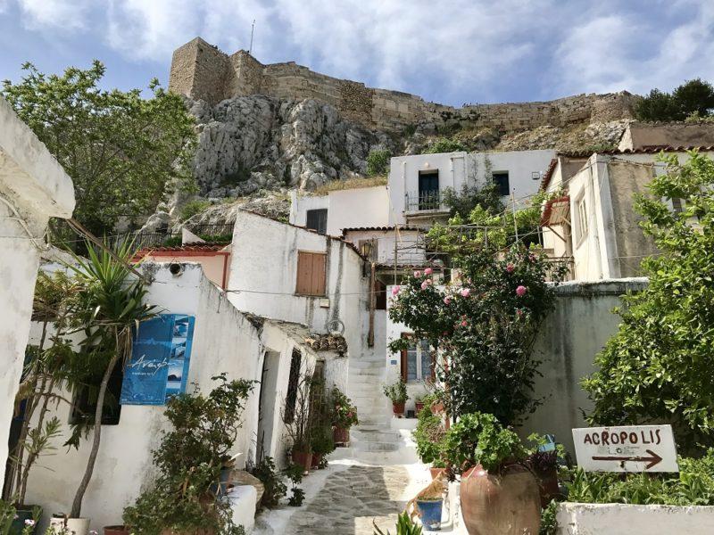 Antifiotika, des Cyclades au coeur d'Athènes