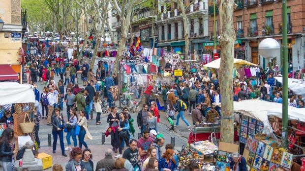 El Rastro le marché de Madrid