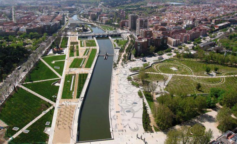 Madrid Rio, la voie verte de Madrid
