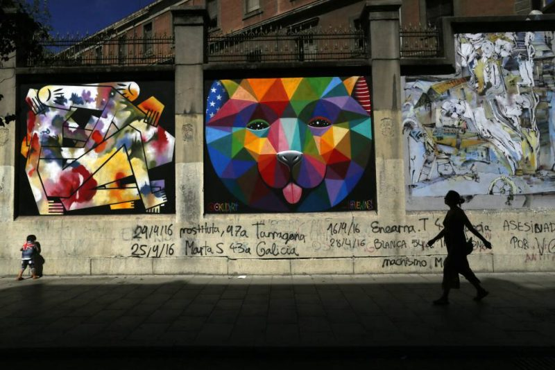Gallerie collaborative de la Tabaclara à Madrid