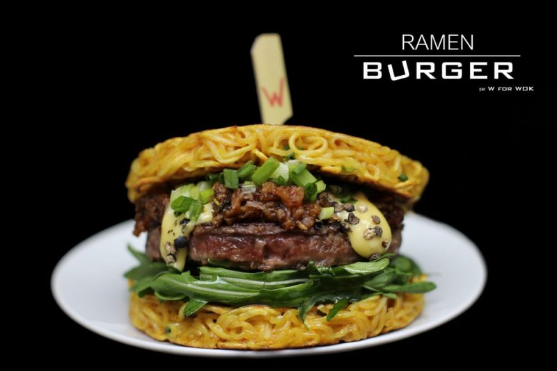 W for wok ramen burger paris