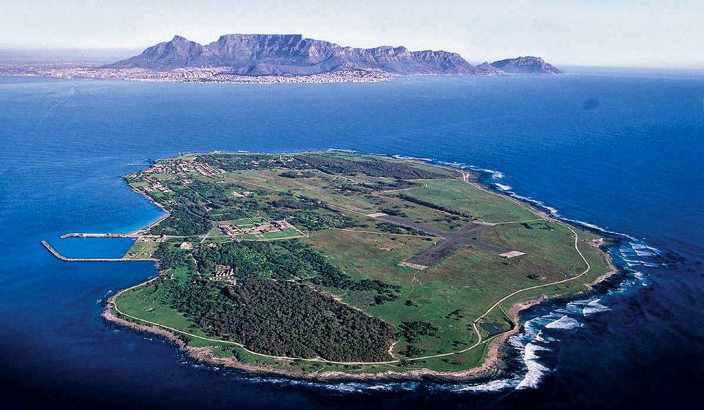Robben Island baignade insolite