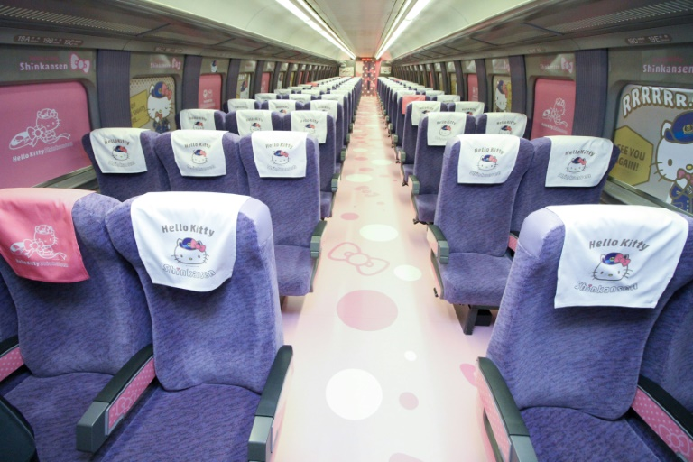 Des sièges Hello Kitty adorables