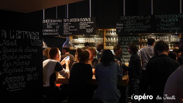 Au fut et à mesure bar à biere en libre service