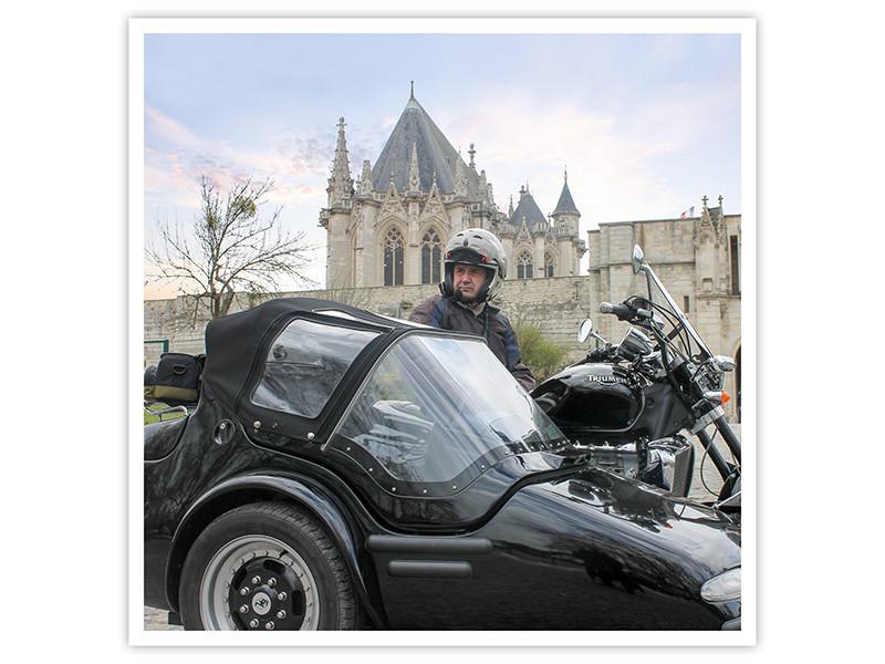 Balade dans le Paris insolite en side-car